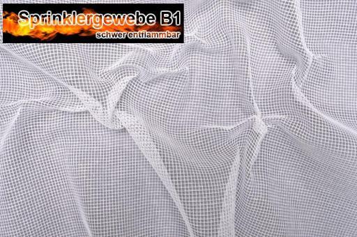 Sprinklergewebe B1 - 300 cm - Weiß Weiß