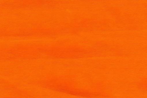 Canvas Baumwollstoff - Uni Orange