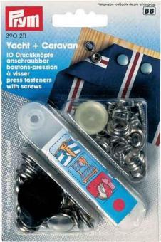 Druckknopf Anschraubbar - Yacht + Caravan