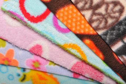 Fleece-Bastelpaket - Bunt