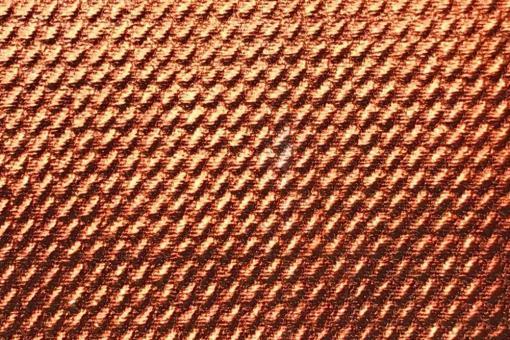 Stretch-Stoff - Metallic - Kupfer