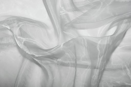 saisonstoffe und artikel f r alle gelegenheiten organza silber silber. Black Bedroom Furniture Sets. Home Design Ideas