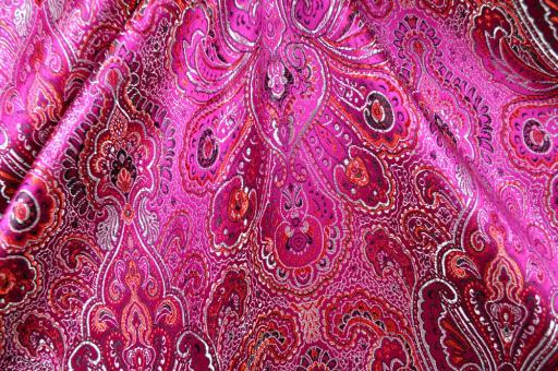 Brokat Stoff - Cheverny - Pink