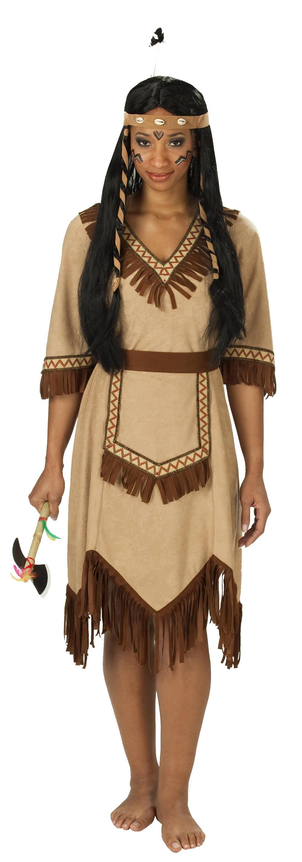 saisonstoffe und artikel f r alle gelegenheiten apachen indianerin online. Black Bedroom Furniture Sets. Home Design Ideas