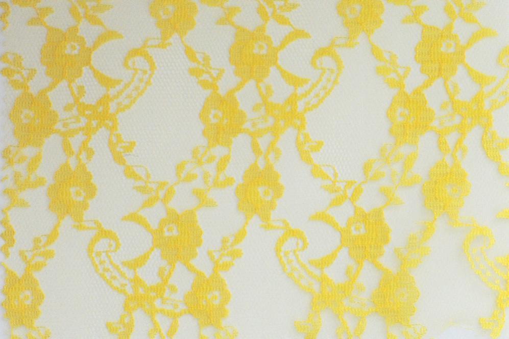 Onlinestoffe.de - Saisonstoffe und Artikel für alle Gelegenheiten    Spitzenstoff - Gelb   online kaufen 56016bcb83