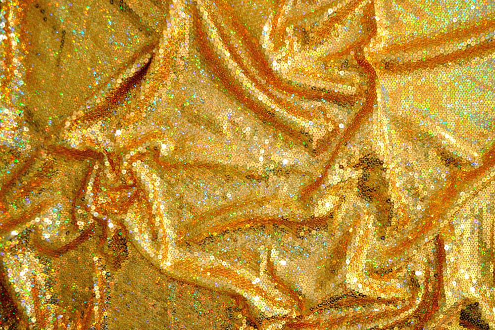 Onlinestoffe.de - Saisonstoffe und Artikel für alle Gelegenheiten    Paillettenstoff Hologramm - Gold   online kaufen 3b87ca91af