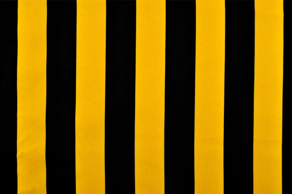Onlinestoffe.de - Saisonstoffe und Artikel für alle Gelegenheiten    Universalstoff Block-Streifen - Schwarz Gelb   online kaufen 67c5d34c6a